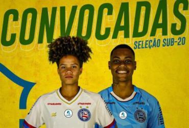 Bahia tem duas jogadoras convocadas e representa Nordeste na Seleção Sub-20 | Reprodução | E.C.Bahia