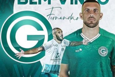 Ídolo do Bahia, atacante Fernandão é anunciado pelo Goiás, adversário desta sexta | Reprodução | Instagram