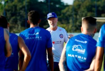 Sem Rodriguinho, Mano comanda preparação com foco no Sport | Felipe Oliveira | EC Bahia