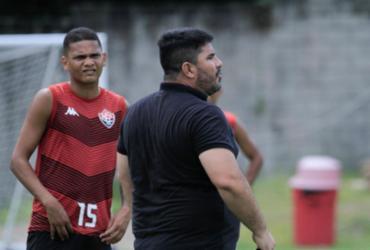Barroca promove trabalho tático visando confronto contra o Guarani | Letícia Martins | EC Vitória
