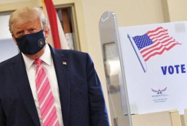 Donald Trump vota antecipadamente na Flórida | Manoel Ngan | AFP