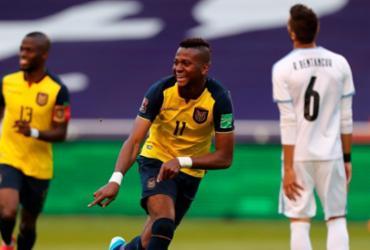 Equador atropela Uruguai e vence por 4 a 2 pelas Eliminatórias   Jose Jacome   AFP