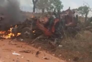 Três pessoas morrem em explosão de caminhão no município de Cocos