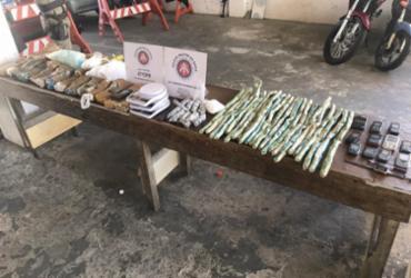 Explosivos que seriam usados em roubos a bancos são apreendidos em Salvador |