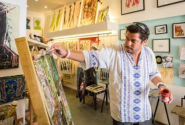 Artistas do Centro Histórico realizam exposição a céu aberto no feriadão | Divulgação