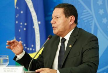 Mourão diz a grupo que país quer reduzir desmatamento na AM em 50% até 2023 | Alan Santos | PR