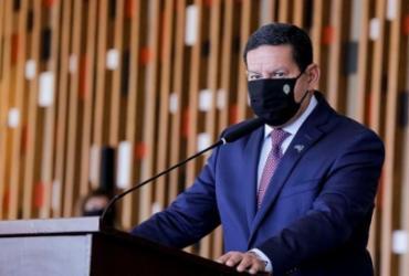 Mourão diz que posição do governo não é por uma Constituinte | Foto: Romério Cunha | VPR | CP