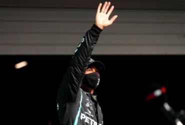 Lewis Hamilton conquista pole position no GP de Portugal | Jose Sena Goulao | AFP