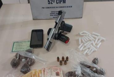 Homem morre e adolescente é apreendido durante ação da PM em Lauro de Freitas