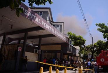Hospital de Bonsucesso será reaberto parcialmente após incêndio | Tânia Rêgo | Agência Brasil