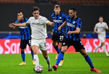 Inter de Milão e Mönchengladbach ficam no empate na Liga dos Campeões | Miguel Medina | AFP