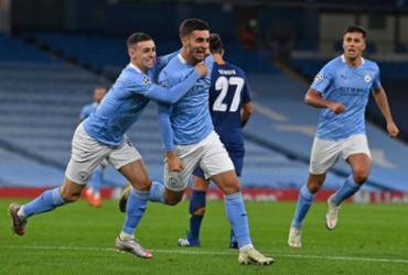 Manchester City vence Porto de virada pela Liga dos Campeões | Paul Ellis | AFP