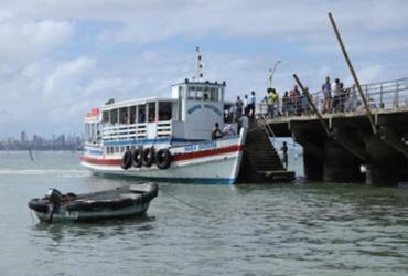 Maré baixa interrompe Travessia Salvador-Mar Grande por 3h nesta sexta | Uendel Galter | Ag. A TARDE