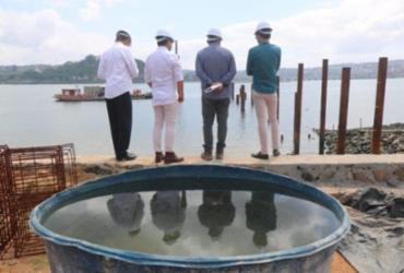Reconstrução da Marina da Penha visa melhor logística para o turismo da Ribeira | Foto: Divulgação | Setur