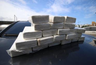 Meio milhão de reais em cocaína é interceptado na Bonocô | Foto: Divulgação | Alberto Maraux