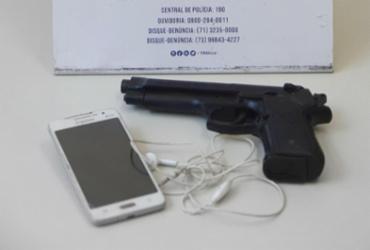 Após assalto na Suburbana, adolescente é apreendido com simulacro | Divulgação | SSP-BA