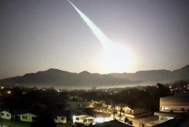 Meteoro gigante cruza os céus do Rio Grande do Sul | Foto: Reprodução