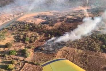 Incêndios florestais atingem municípios baianos; bombeiros monitoram áreas   Divulgação   CBMBA