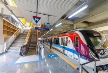 Mulher é resgatada com vida após cair nos trilhos do metrô da estação rodoviária | Divulgação