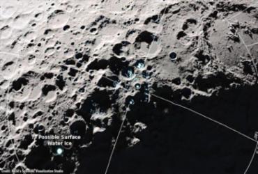 Nasa afirma ter encontrado moléculas de água na superfície da Lua | Foto: Divulgação | Nasa