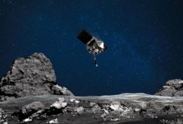 Nasa diz que sonda Osiris-Rex entrou em contato com asteroide Bennu | Handout | NASA | AFP