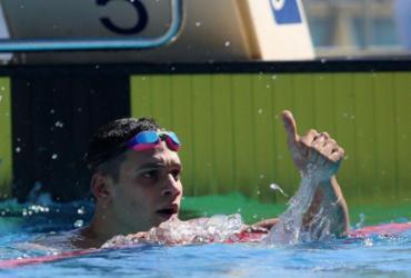 Leonardo Santos vence 200 medley com recorde pessoal, na Hungria | Satiro Sodré | CBDA