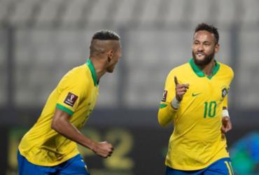Neymar marca três vezes e Brasil vence Peru nas Eliminatórias | Lucas Figueiredo | CBF