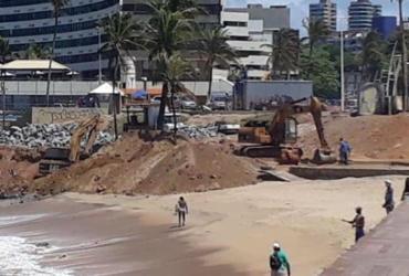 MPF instaura inquérito para apurar danos ambientais em obra na praia de Ondina | Cidadão Repórter | via WhatsApp