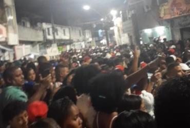 Festa Paredão com cerca de três mil pessoas é encerrada no Arenoso | Divulgação | SSP