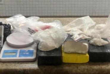 PM apreende 15 kg de maconha e cocaína na capital e no interior da Bahia | Divulgação | SSP-BA
