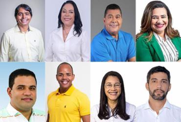 Pitágoras lidera pesquisa, com 46% | Montagem A TARDE