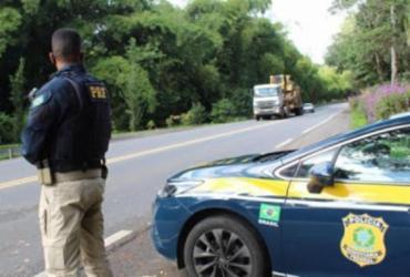 Motorista é preso por débito de pensão alimentícia na na BR-110 | Divulgação | PRF-BA