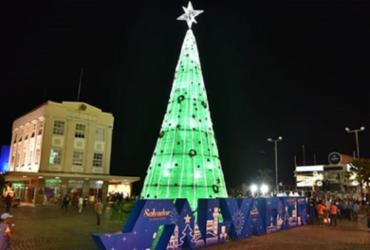 Salvador registra recorde nacional com maior árvore de Natal | Arquivo | Prefeitura de Salvador