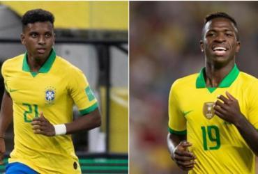 Rodrygo e Vinicius Jr. são finalistas do prêmio de melhor sub-20 da Europa | Lucas Figueiredo | CBF