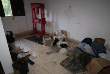 Dois são presos com meia tonelada de cocaína em laboratório de refino