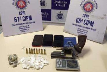 Suspeitos de assassinar subtenente da PM são presos em Feira de Santana