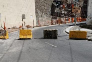 Ladeira da Montanha é interditada para obras de requalificação | Divulgação | Transalvador