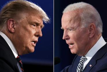 Biden acusa Trump de render-se diante da covid-19 a poucos dias das eleições | Arquivo | AFP