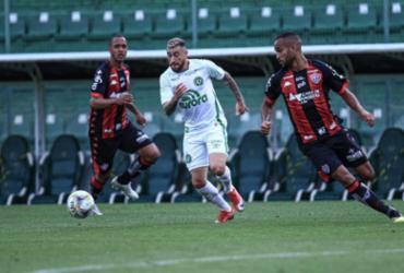 Vitória faz bom jogo e empata com a Chape fora de casa | Márcio Cunha | ACF