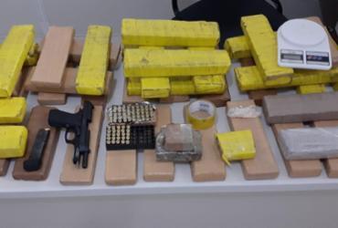 Drogas e arma da polícia do CE são apreendidas em Vitória da Conquista |