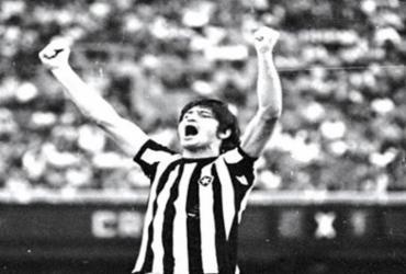 Ex-atacante do Vitória, Rodolfo Fischer, morre aos 76 anos | Foto: Reprodução | Twitter do Botafogo