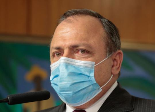 Ministro da Saúde, Eduardo Pazuello, testa positivo para Covid-19 | Divulgação |