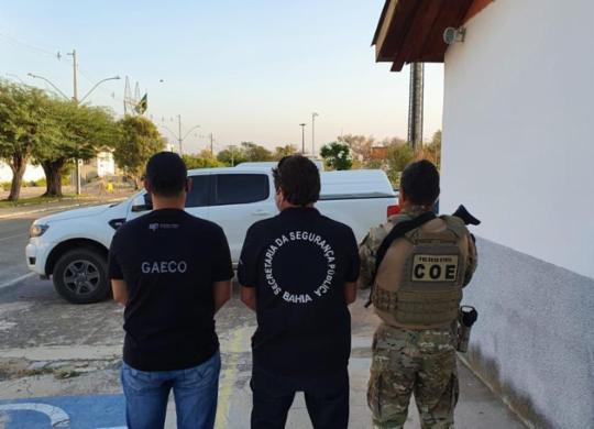 Operação Alcateia cumpre mandados contra organização criminosa composta por PMs | Divulgação | MP-BA