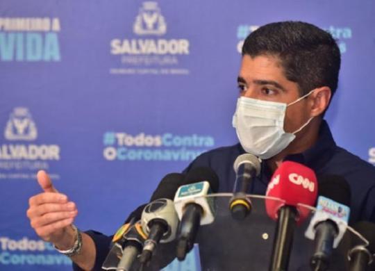 Neto anuncia protocolo para retorno às aulas do ensino superior em Salvador   Divulgação/SECOM