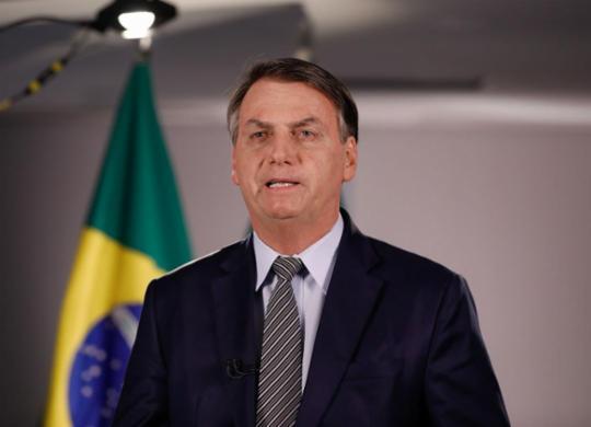 Bolsonaro diz que justiça não pode determinar obrigatoriedade da vacina | Carolina Antunes | PR