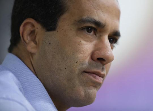 Bruno Reis diz não ter recebido pedido de licença para construção da ponte Salvador-Itaparica | Foto: Raul Spinassé | Ag. A TARDE