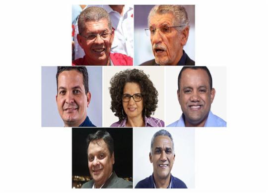 Vitória da Conquista: Zé Raimundo tem 34% e Herzem Gusmão 29% | Montagem | A TARDE
