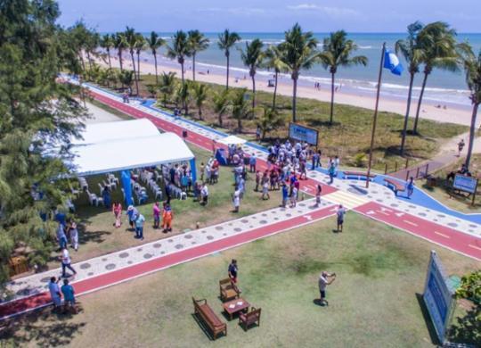 Praias da Bahia renovam selo internacional Bandeira Azul   Divulgação   Comitê Bandeira Azul