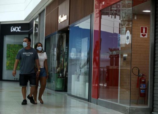 Setores chegaram a ter 30% de redução no volume de vendas em 2020, diz Sindilojas | Felipe Iruatã | Ag. A TARDE | 7.09.2020