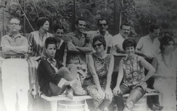 Walter da Silveira (1º à esq.), em 1945: ?Mestre de uma geração?   Foto: Arquivo A TARDE